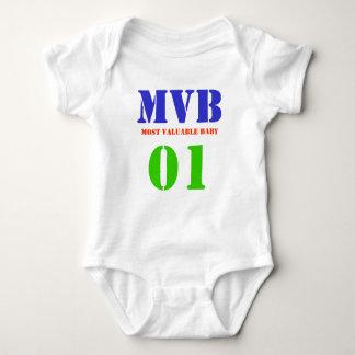 """Most Valuable Baby"" Custom Shirt/Creeper Baby Bodysuit"