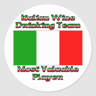Most Valuable Player Classic Round Sticker