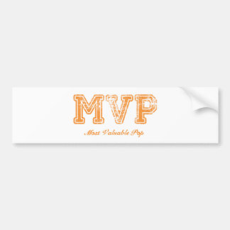 Most Valuable Pop – MVP Bumper Stickers