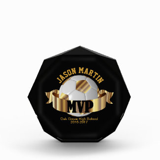 Most Valuable Soccer Player Acrylic Award