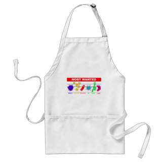 Most Wanted Adult Apron