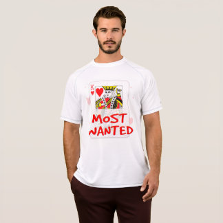 MOST WANTED LOVE Men's Champion Double Dry Mesh T- T-Shirt