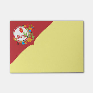 Most Wonderful Simply Incredible Fantastic Mom Post-it Notes