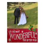 Most Wonderful Time Holiday Template Postcards