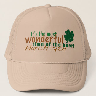 Most Wonderful Time of the Beer Trucker Hat