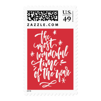 Most Wonderful Time of Year Holiday Postage