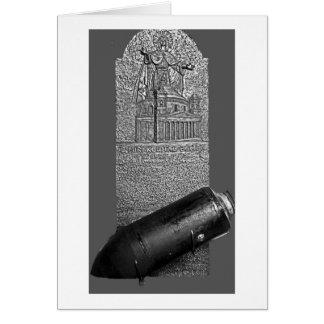 Mosta, Malta, 1942 Bomb and Memorial Card