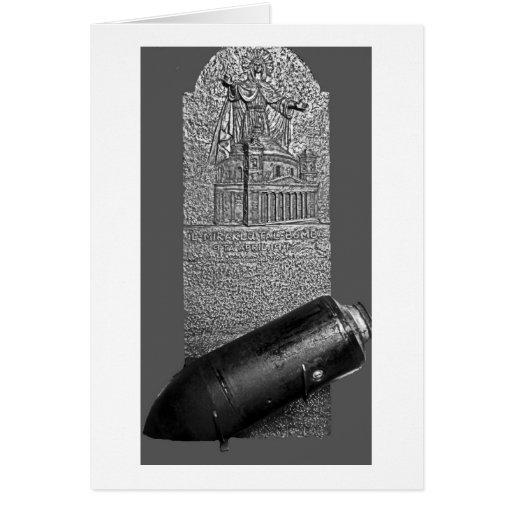 Mosta, Malta, bomba 1942 y monumento Tarjetas