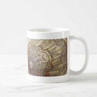 Mosta Rotunda (Malta) Ceiling Artwork Coffee Mug