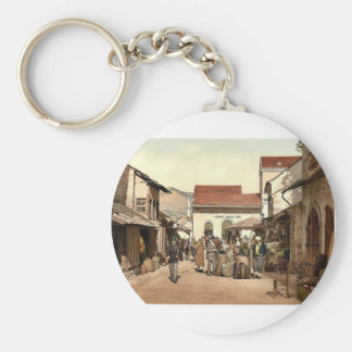 Mostar, Cafe Luft, Herzegowina, Austro-Hungary mag Key Chains