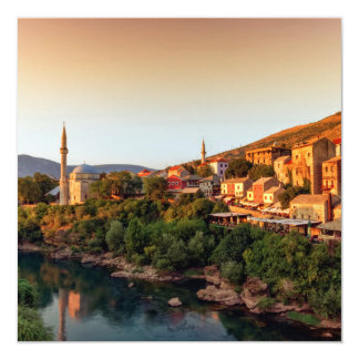 Mostar old city, Bosnia and Herzegovina Card