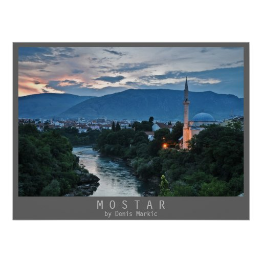 Mostar Posters