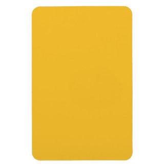 Mostaza amarilla iman rectangular