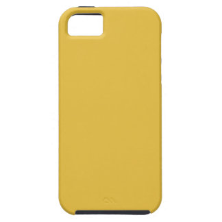 Mostaza amarilla iPhone 5 fundas
