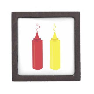 Mostaza de la salsa de tomate cajas de regalo de calidad