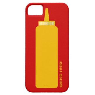 Mostaza - serie americana del espectro - caso del iPhone 5 carcasas