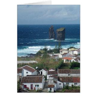 Mosteiros - Azores islands Card