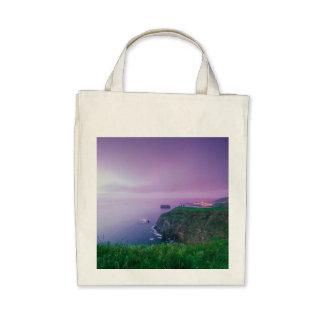 Mosteiros coastal sunset canvas bags