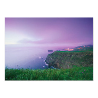 Mosteiros coastal sunset card
