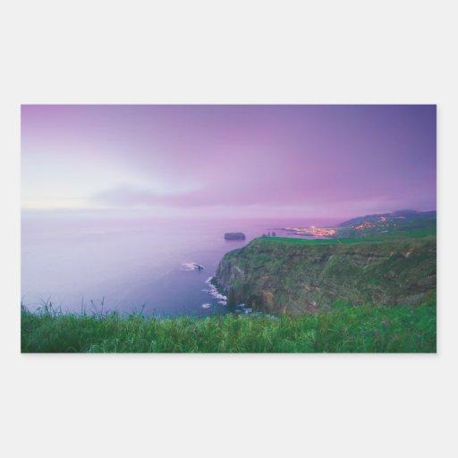 Mosteiros coastal sunset stickers