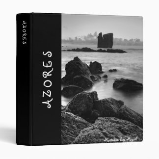 Mosteiros islets, Azores 3 Ring Binder