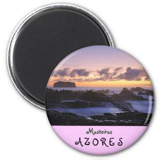 Mosteiros islets 2 inch round magnet
