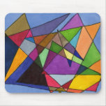 """""""Mostly Acutes"""" Abstract Design Mousepad"""