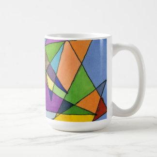 """Mostly Acutes"" Abstract Design Mug"