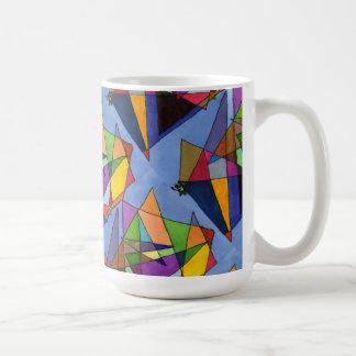 """Mostly Acutes Tiled"" Abstract Design Mug"