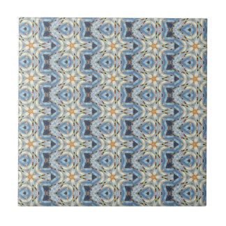 mostly blue moraccan tile