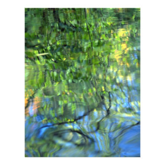 """Mostly green reflections 8.5"""" x 11"""" flyer"""