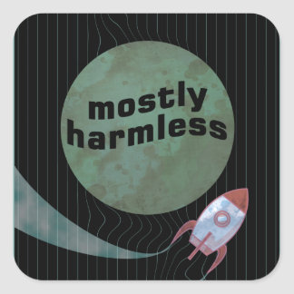 Mostly Harmless Square Sticker