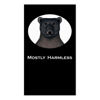 Mostly Harmless Trick card /