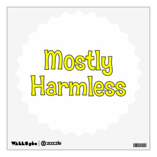 Mostly Harmless Wall Decal