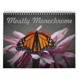 Mostly Monochrome Calendar