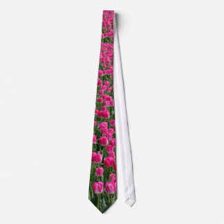 Mostly pink neck tie
