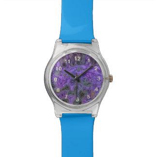 Mostly Purple pattern Wrist Watch