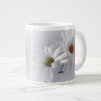 Mostly White Giant Coffee Mug