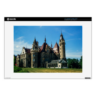 Moszna Castle in Poland, Architecture Photo Laptop Decal