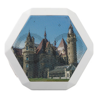 Moszna Castle in Poland, Architecture Photo White Bluetooth Speaker