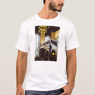Moszna Castle Wooden Interior Architecture T-Shirt