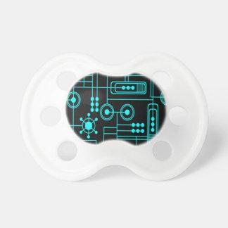 mot del circuito eléctrico de la tecnología chupete de bebe