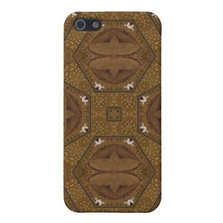 Mota abstracta del caso de Iphone 4 del modelo iPhone 5 Carcasas
