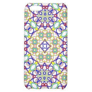 Mota abstracta del caso de Iphone 4 del modelo