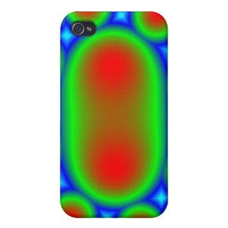 Mota abstracta del caso de Iphone 4 del modelo iPhone 4/4S Carcasa