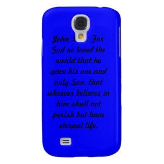 Mota azul del iPhone 3 del 3:16 de Juan