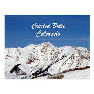 Mota con cresta, Colorado Tarjeta Postal