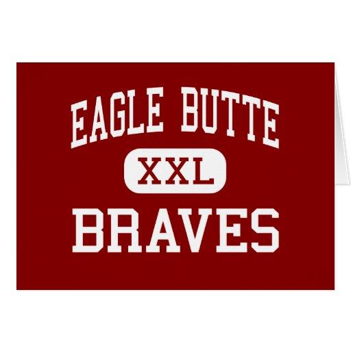 Mota de Eagle - Braves - alta - mota de Eagle Tarjeta De Felicitación