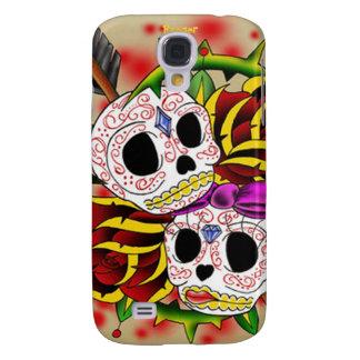 Mota de Iphone 3 - cráneos del azúcar (coloridos)