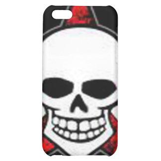 Mota de Iphone 4 - cráneo y estrella roja